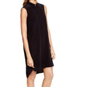 J. Crew • Black Silk Sleeveless Dress Size M
